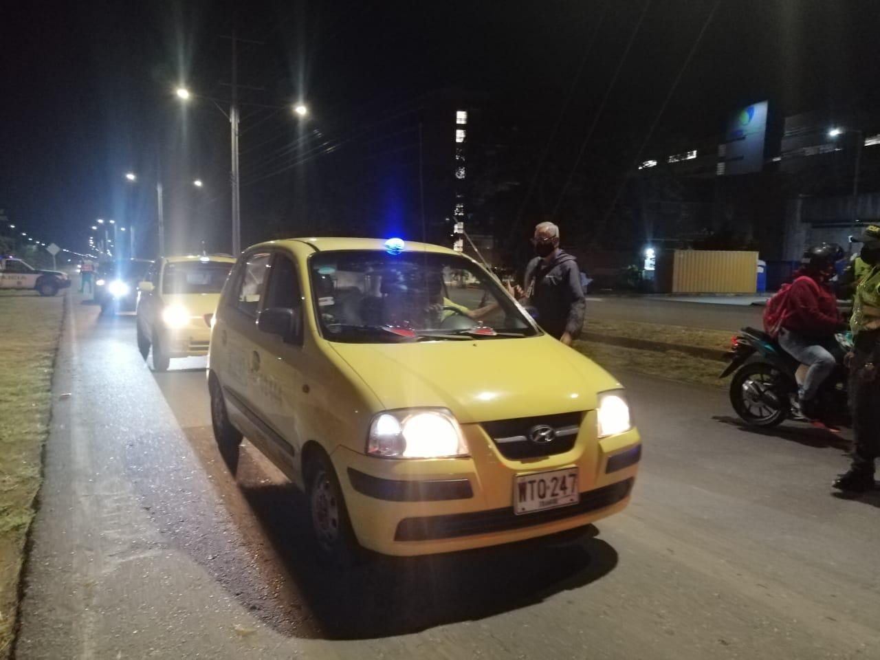 Taxis operarán con el 50 % de su capacidad este 2 de noviembre
