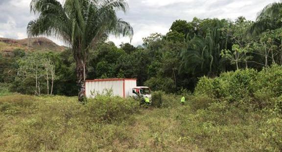 Policía recuperó en Melgar un tracto camión hurtado en Soacha