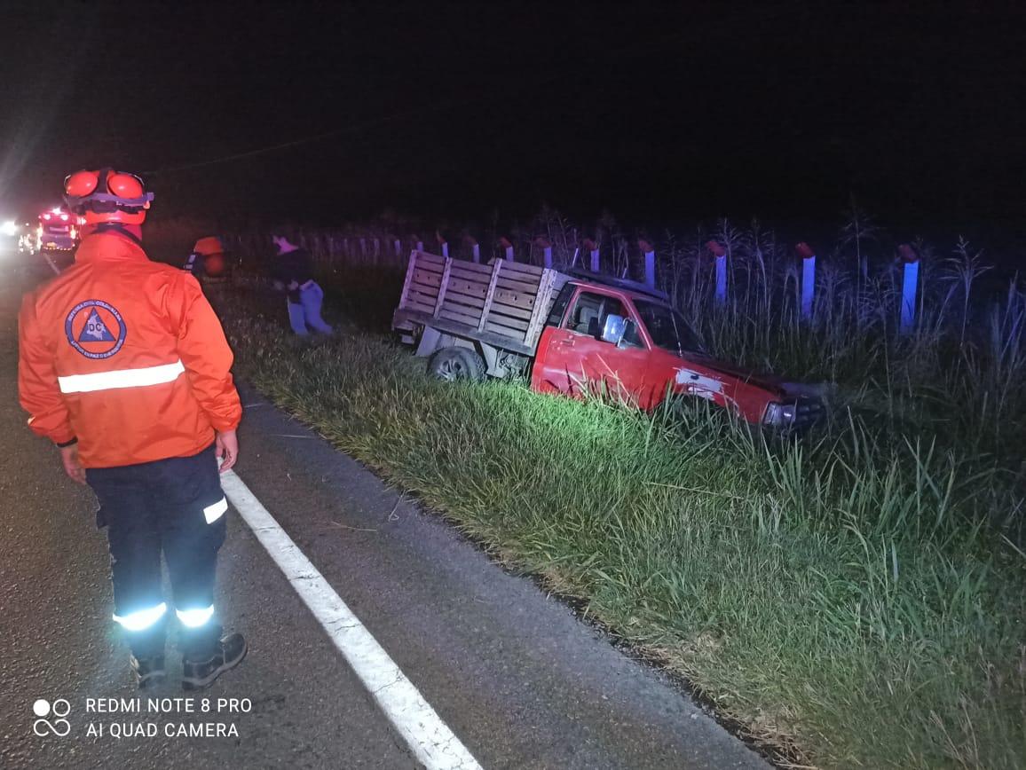 Tres heridos dejó siniestro vial en el norte del Tolima