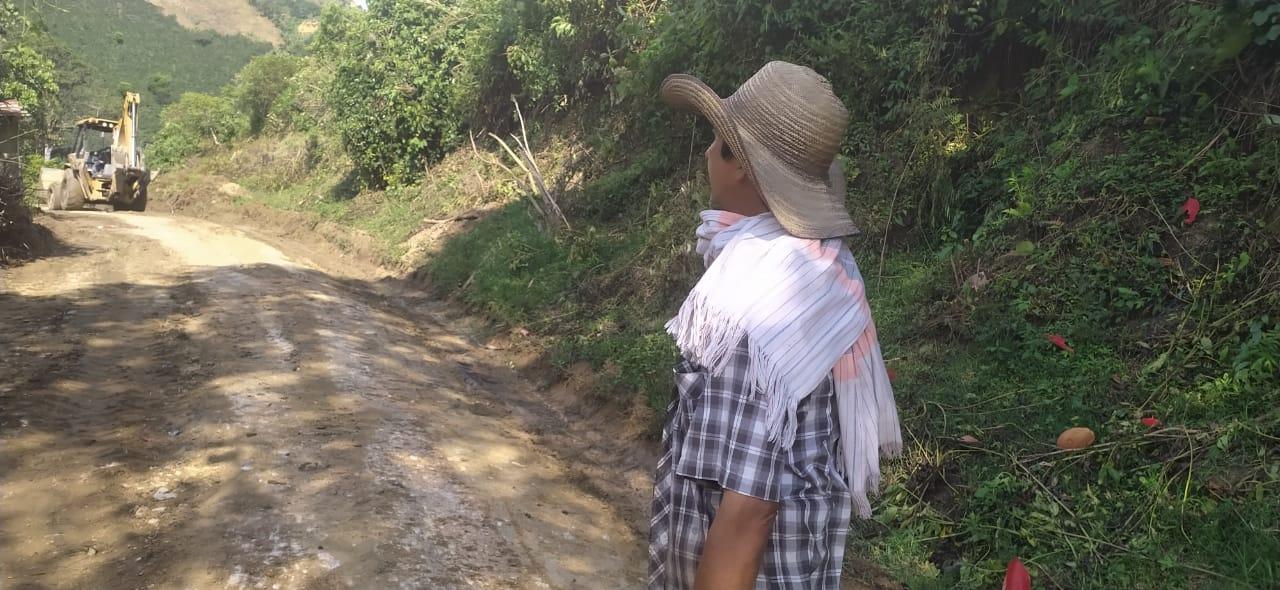 Intervienen 24 kilómetros de la vía hacia China Alta