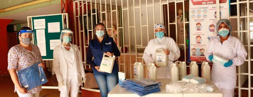 Alcaldía de Ibagué donó elementos de bioseguridad a hogares geriátricos