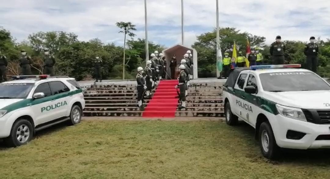 Policía del Tolima rindió homenaje a fallecidos y víctimas de Armero