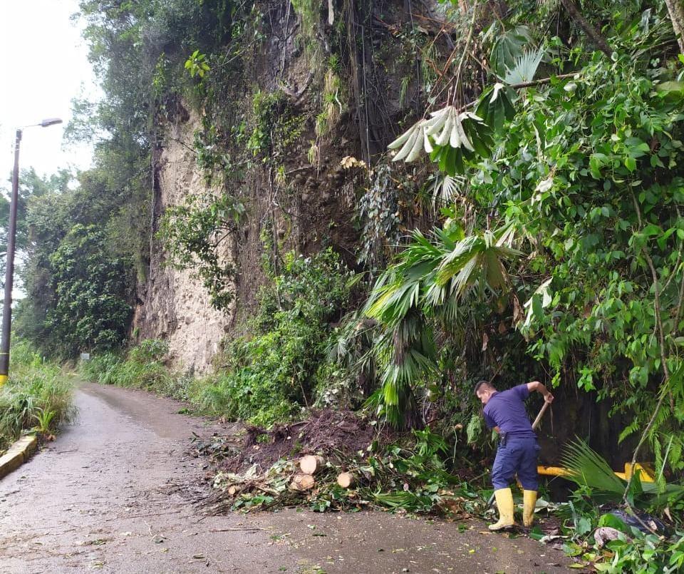 Lluvias dejaron afectaciones en algunos barrios de Ibagué