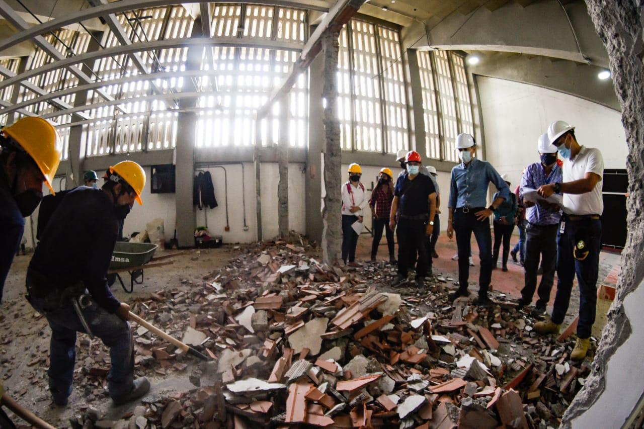 Iniciaron las obras de adecuación del estadio Manuel Murillo Toro