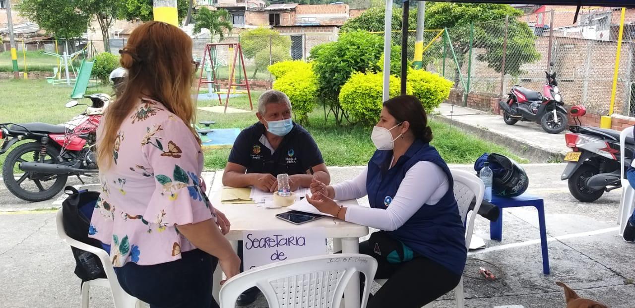 Atención: Así será la jornada de tomas gratuitas de Covid-19 en el barrio Ricaurte