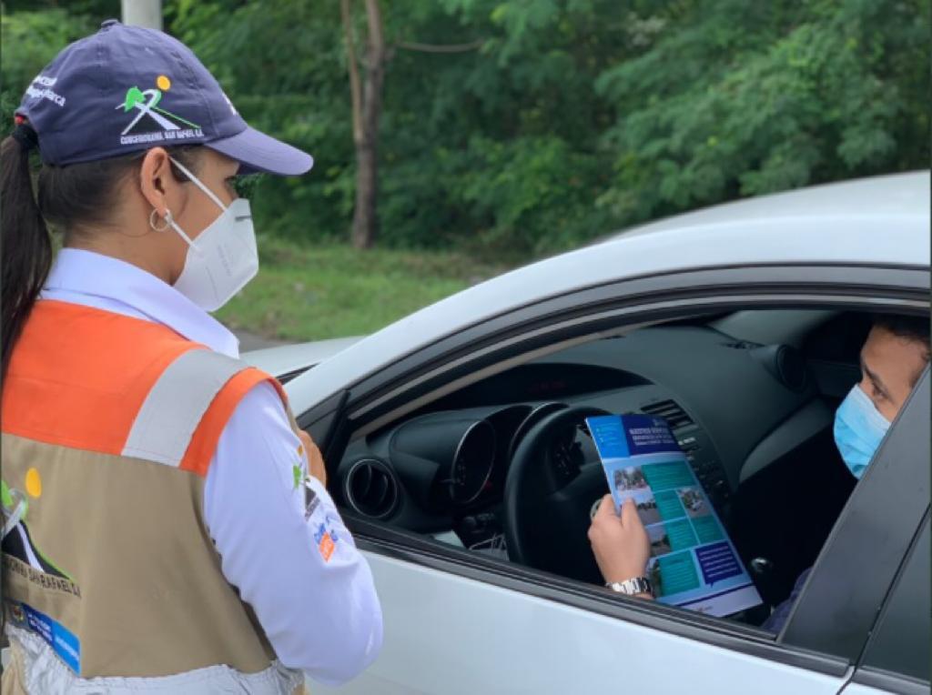 Refuerzan campañas de seguridad vial en el corredor Girardot - Ibagué - Cajamarca