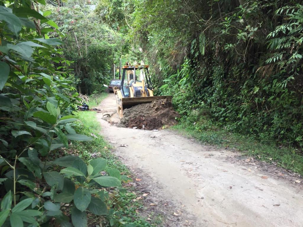 Intervienen tres kilómetros de vía en Calambeo