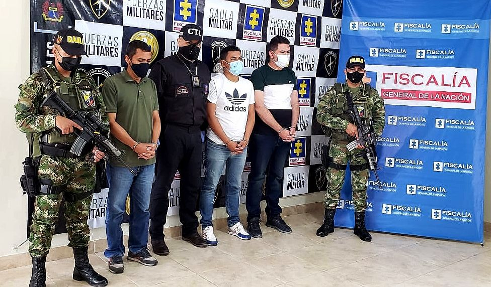 Ex policías de Ibagué secuestraron y extorsionaron a ecuatoriano y a su familia