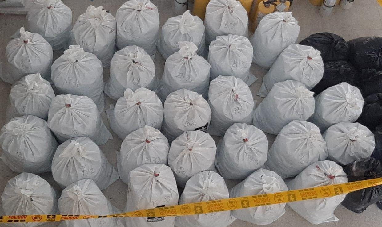Asegurado por transportar 400 kilogramos de marihuana en la variante Ibagué – El Espinal