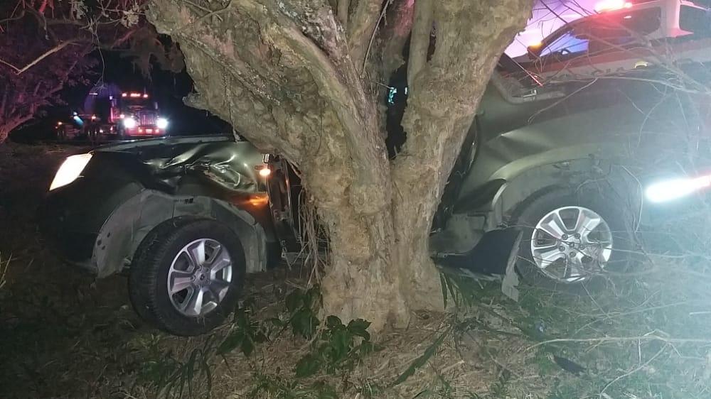 Un microsueño le habría costado la vida tras chocar contra un árbol en la vía a Alvarado