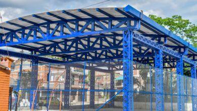 Photo of Terminó la construcción de cubierta en el polideportivo del barrio Pedregal
