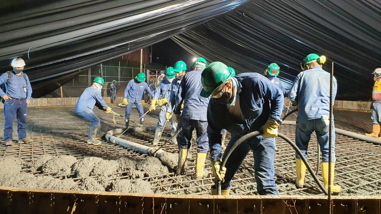 Avanza la construcción del tanque sur del Acueducto Complementario