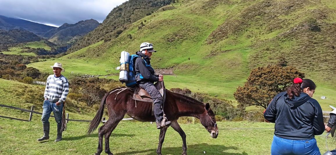 Rescataron a montañista herido en el Nevado del Tolima