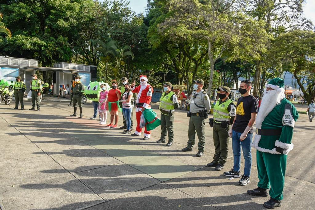 Socializaron la campaña de prevención 'Navidad próspera y segura'