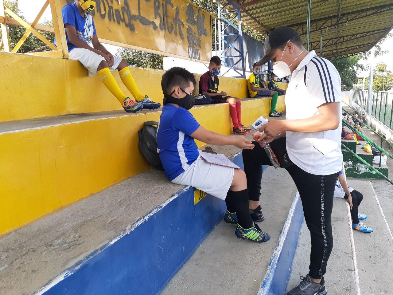 Alvarado también se beneficia de su Escuela de Formación Deportiva
