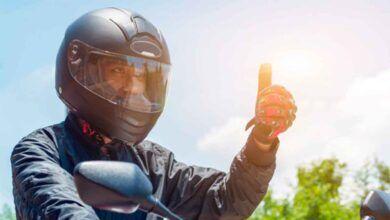 Atención motociclistas: Así son los nuevos cascos que deberán utilizar desde este sábado