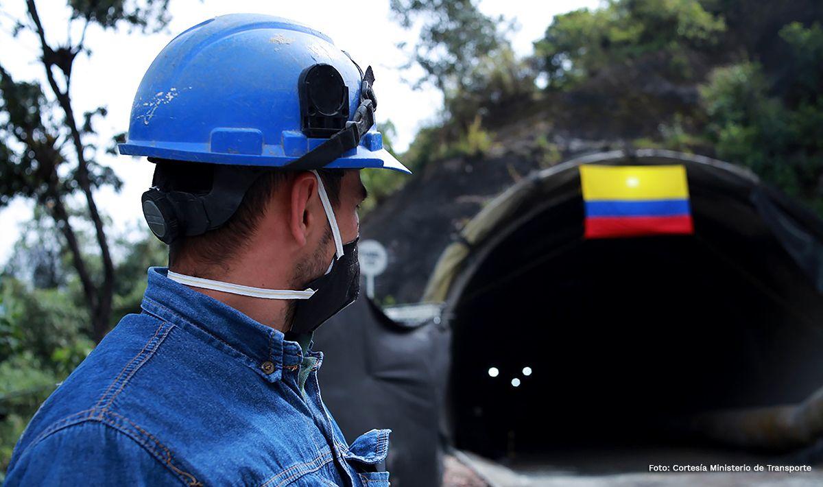 Terminó excavación del último túnel del proyecto 'Cruce de la Cordillera Central'