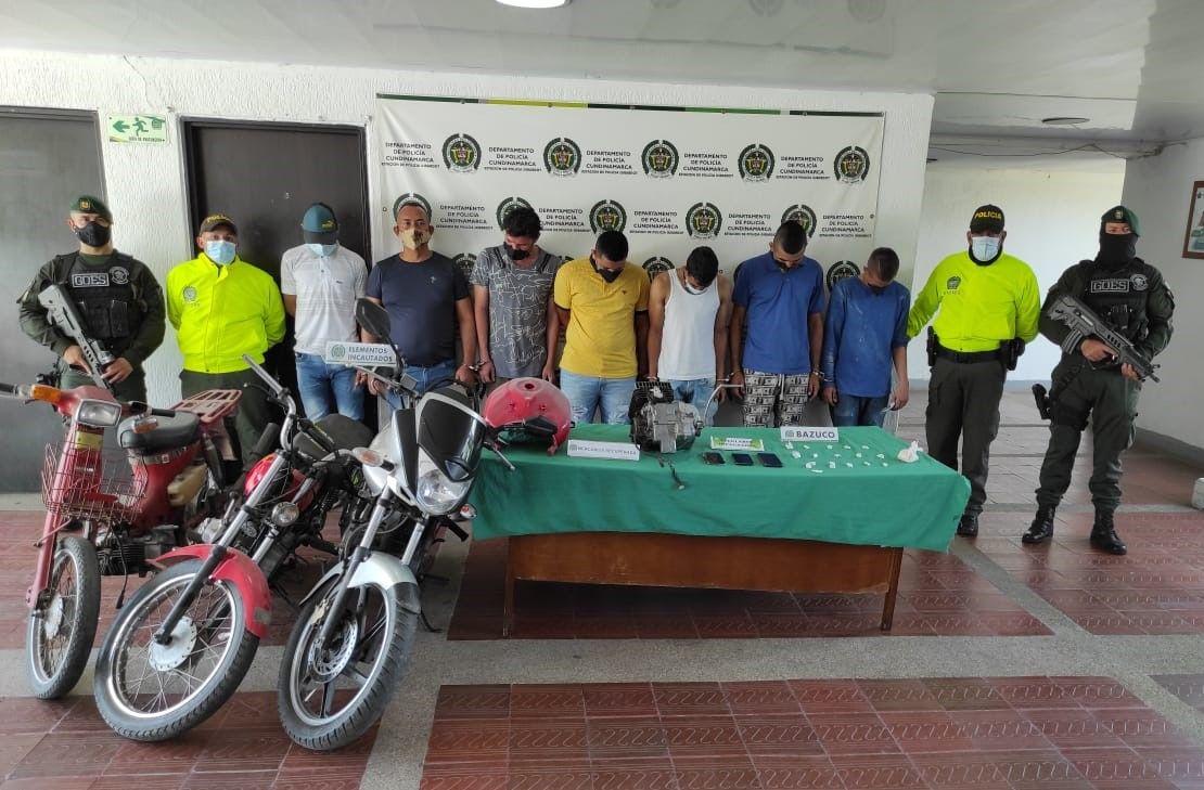 'Los Brasil' robaban y comercializaban motos en Tolima y Cundinamarca