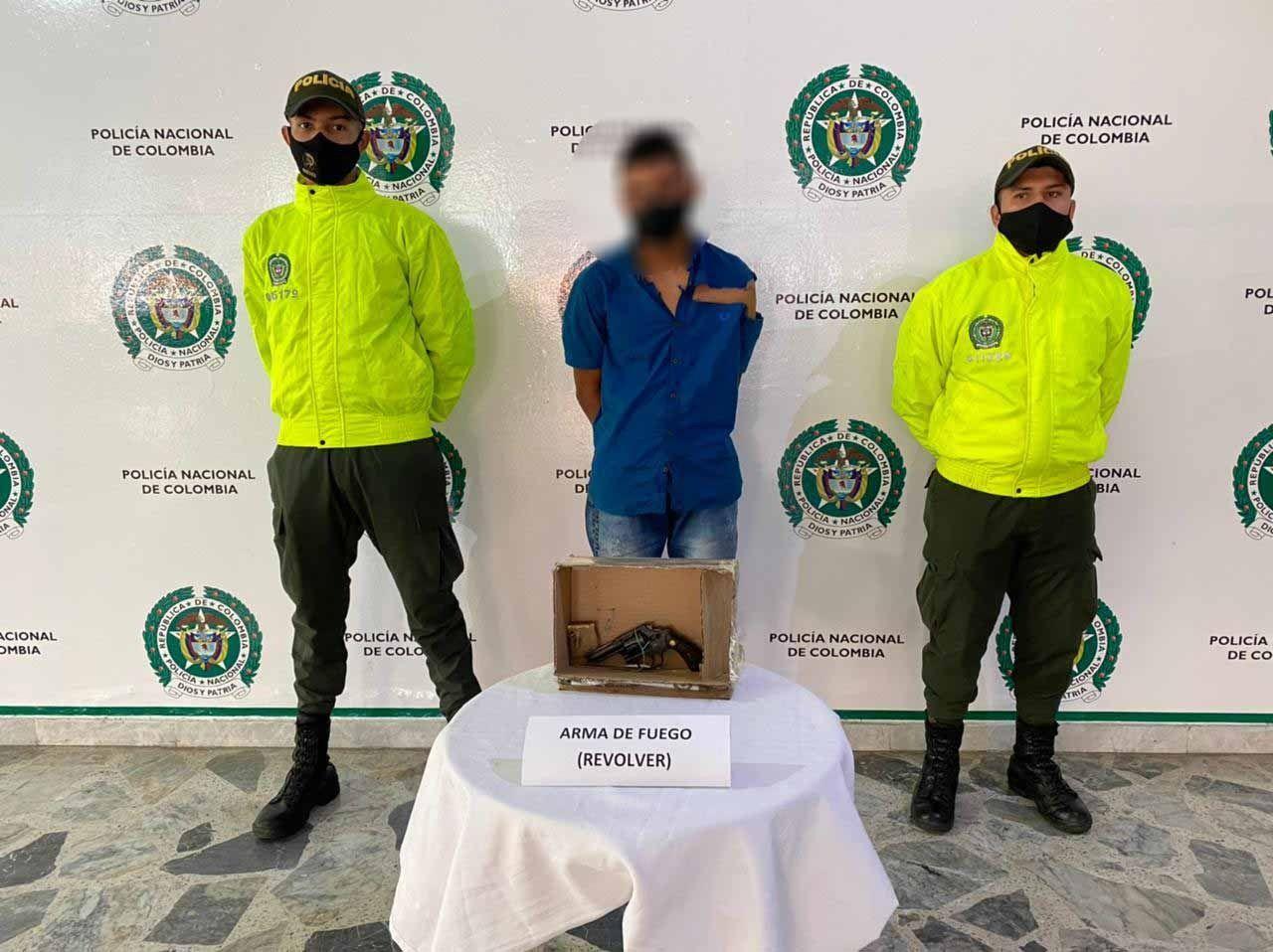 Capturado hombre que habría disparado a guarda de seguridad en el barrio La Pola durante un robo