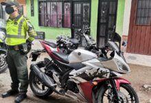 Policía recuperó en Melgar y Fresno dos motos robadas