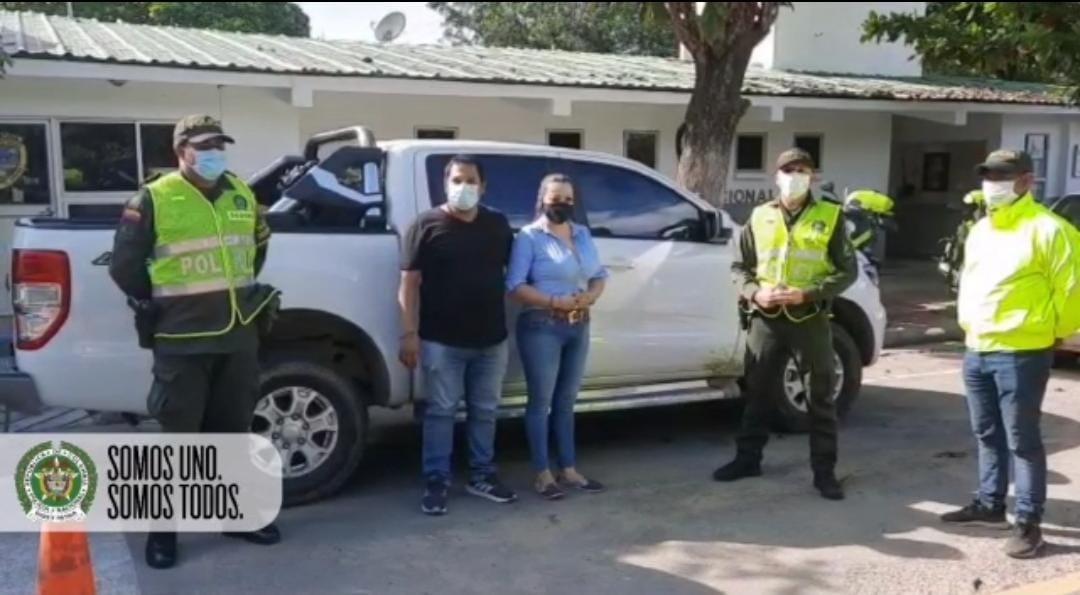 Policía del Tolima recuperó camioneta de alta gama