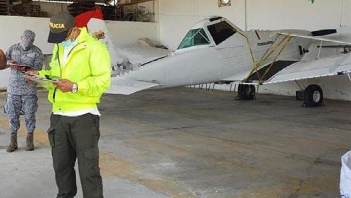 'Inmovilizadas' siete aeronaves en el Tolima