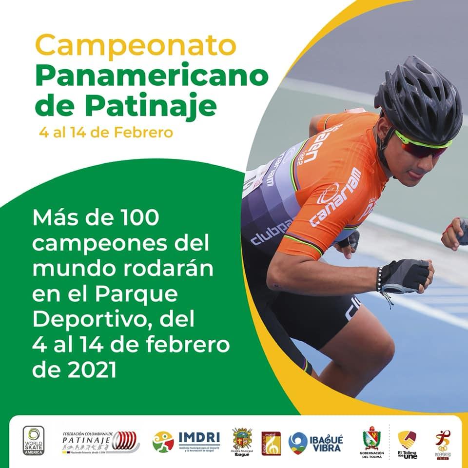 Ibagué está de fiesta: Inicia el Panamericano de Patinaje