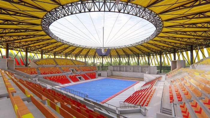 Inició la construcción del Coliseo Mayor de Ibagué en el Parque Deportivo