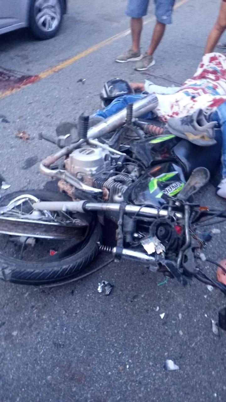 Cuatro muertos dejó impacto ente dos motos entre Ortega y Guamo