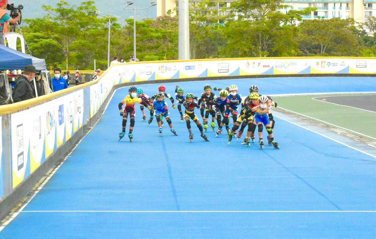 La salud gana 'medalla de oro' en el Panamericano de patinaje en Ibagué