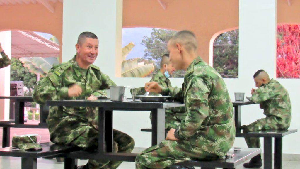 El Comandante del Comando de Reclutamiento del Ejército Nacional, visitó Ibagué