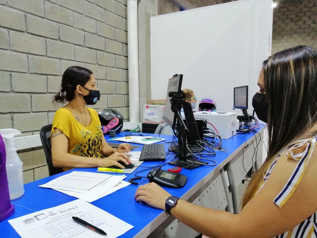 Secretaría de Movilidad avanza en su propósito de atender a 120.000 ibaguereños en el 2021