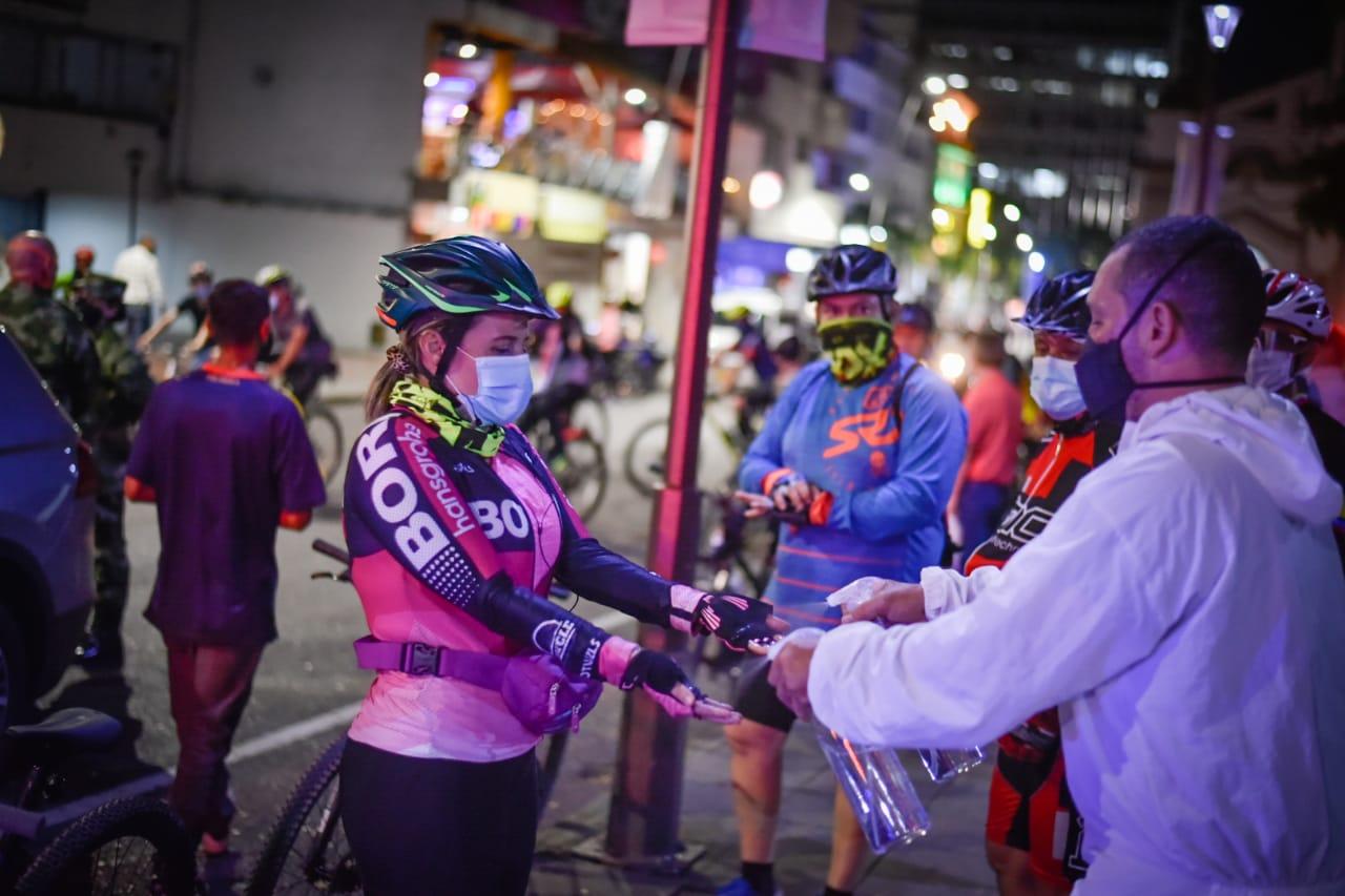 A pedalear por Ibagué con las 'Rutas seguras' de la Alcaldía y Policía!