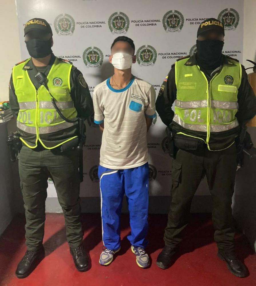 Capturaron a atracador de conductor de buseta