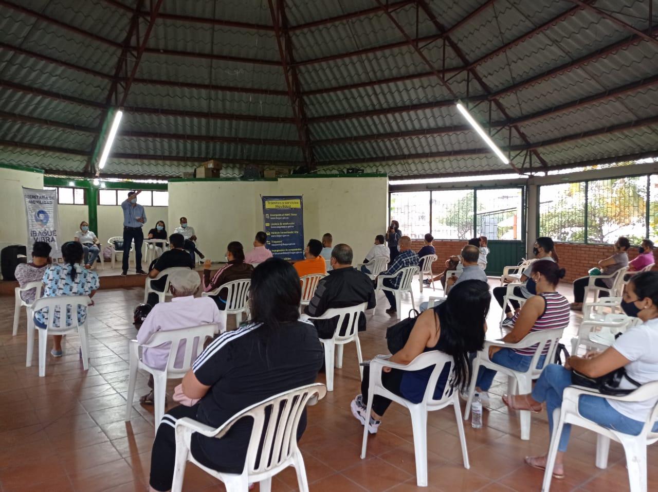 Más de 500 ibaguereños se han beneficiado con las jornadas de 'Movilidad al Barrio'