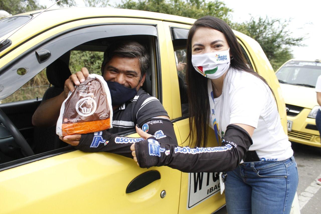 Más de 40 taxistas de Ibagué fueron sensibilizados en cultura ciudadana