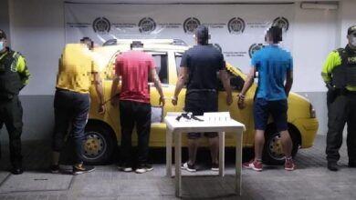 Se desplazaban 'armados hasta los dientes' en un taxi