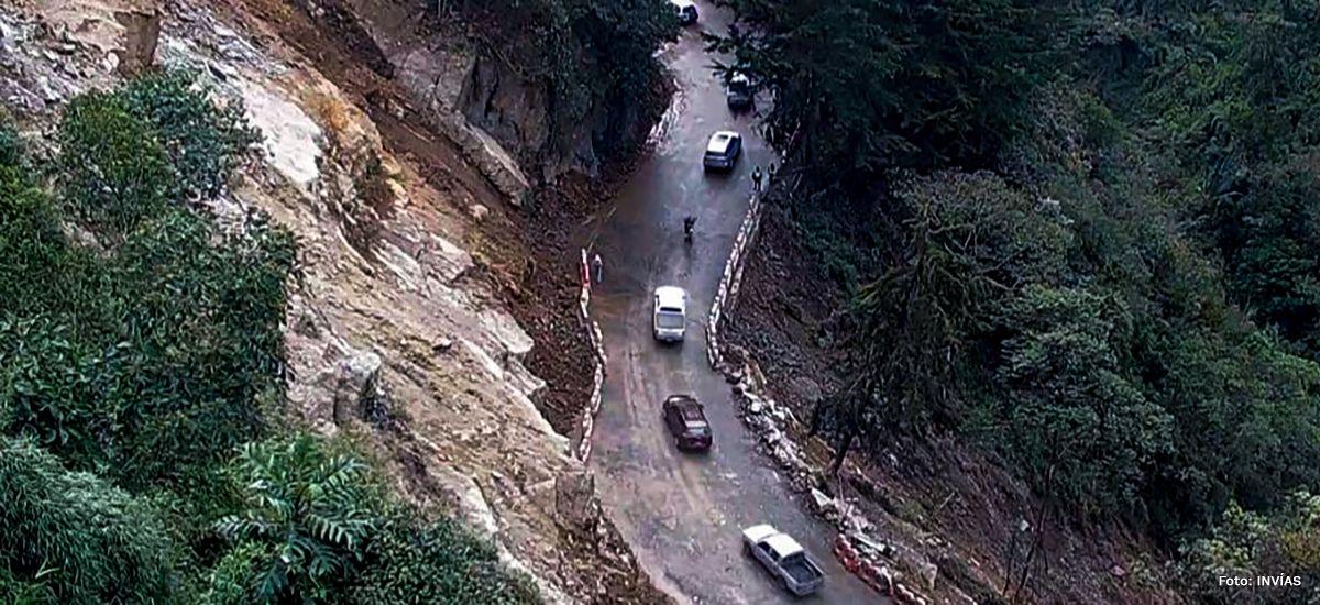 Corredor entre Cajamarca y Calarcá opera con normalidad