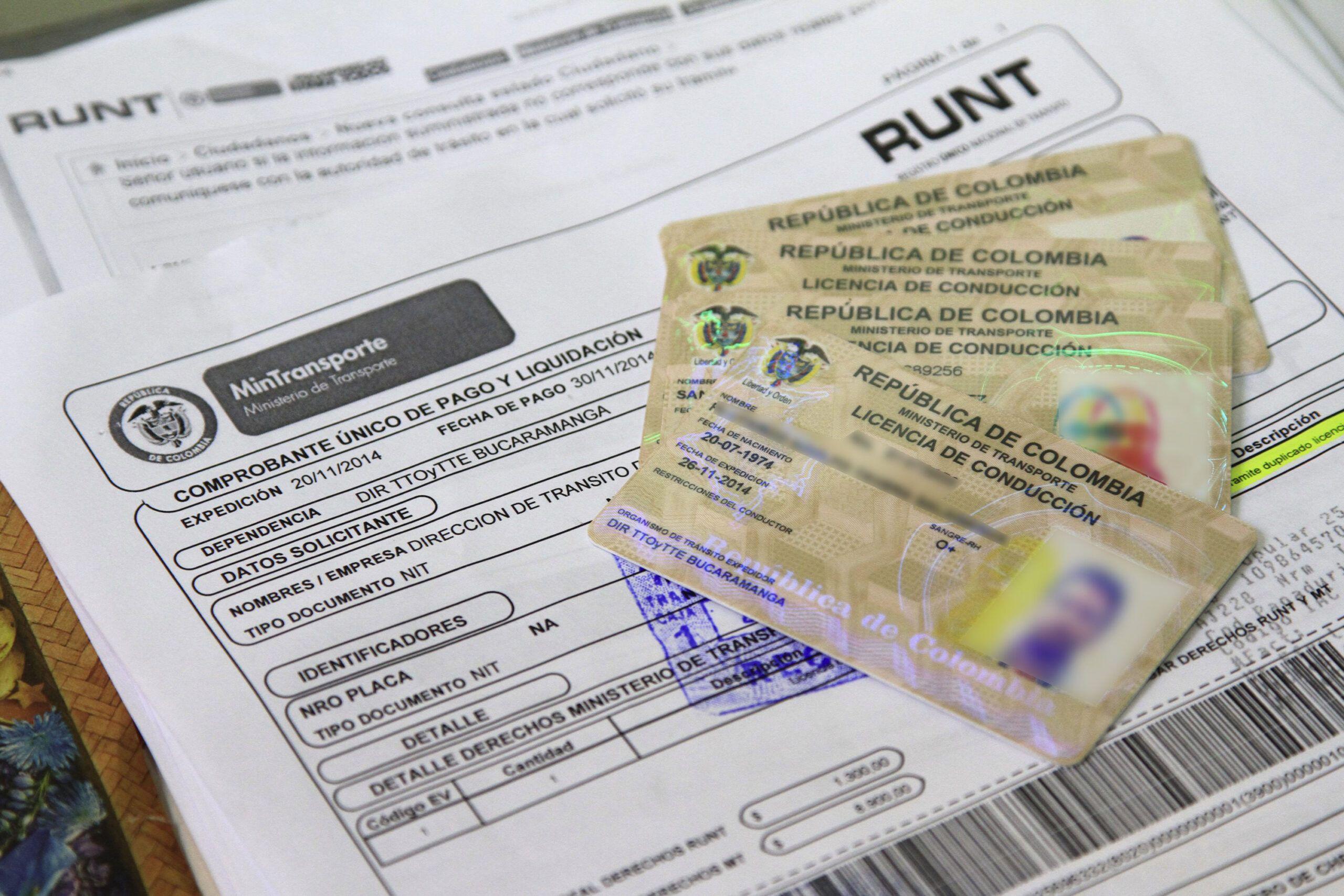 MinTransporte pide investigar filtración de documentos del Runt