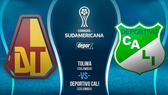 Sin Plata y Caicedo, D. Tolima recibe este martes al Cali por Copa Sudamericana