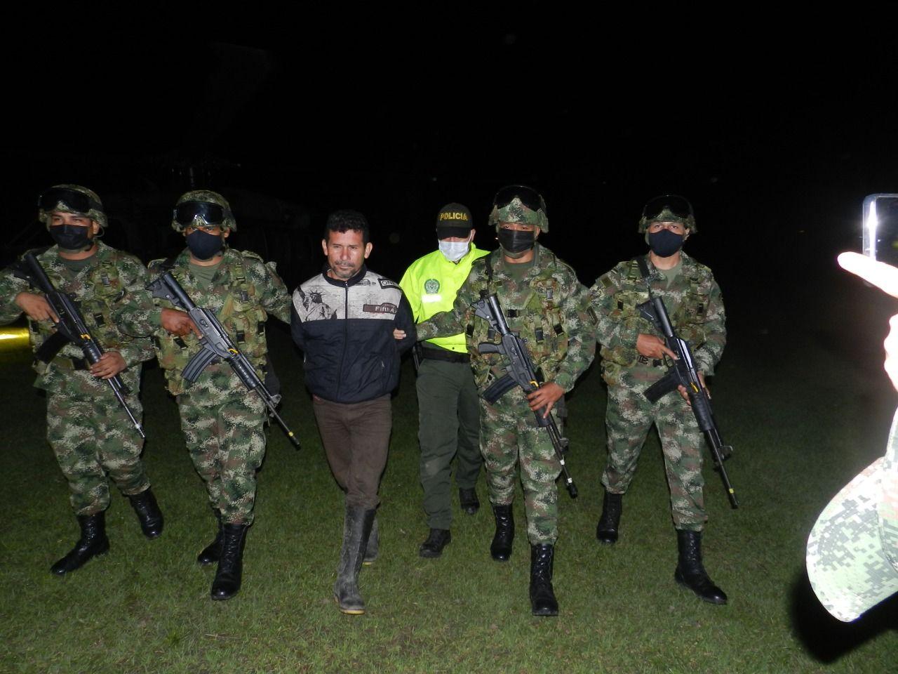 Capturado máximo cabecilla del frente 'Ismael Ruiz', en el sur del Tolima