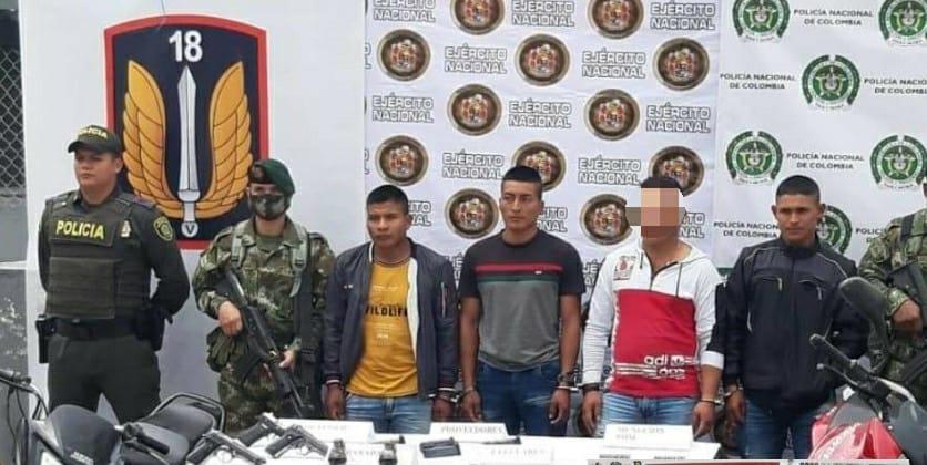 Condenados tres integrantes del Grupo Armado Residual de la Dagoberto Ramos