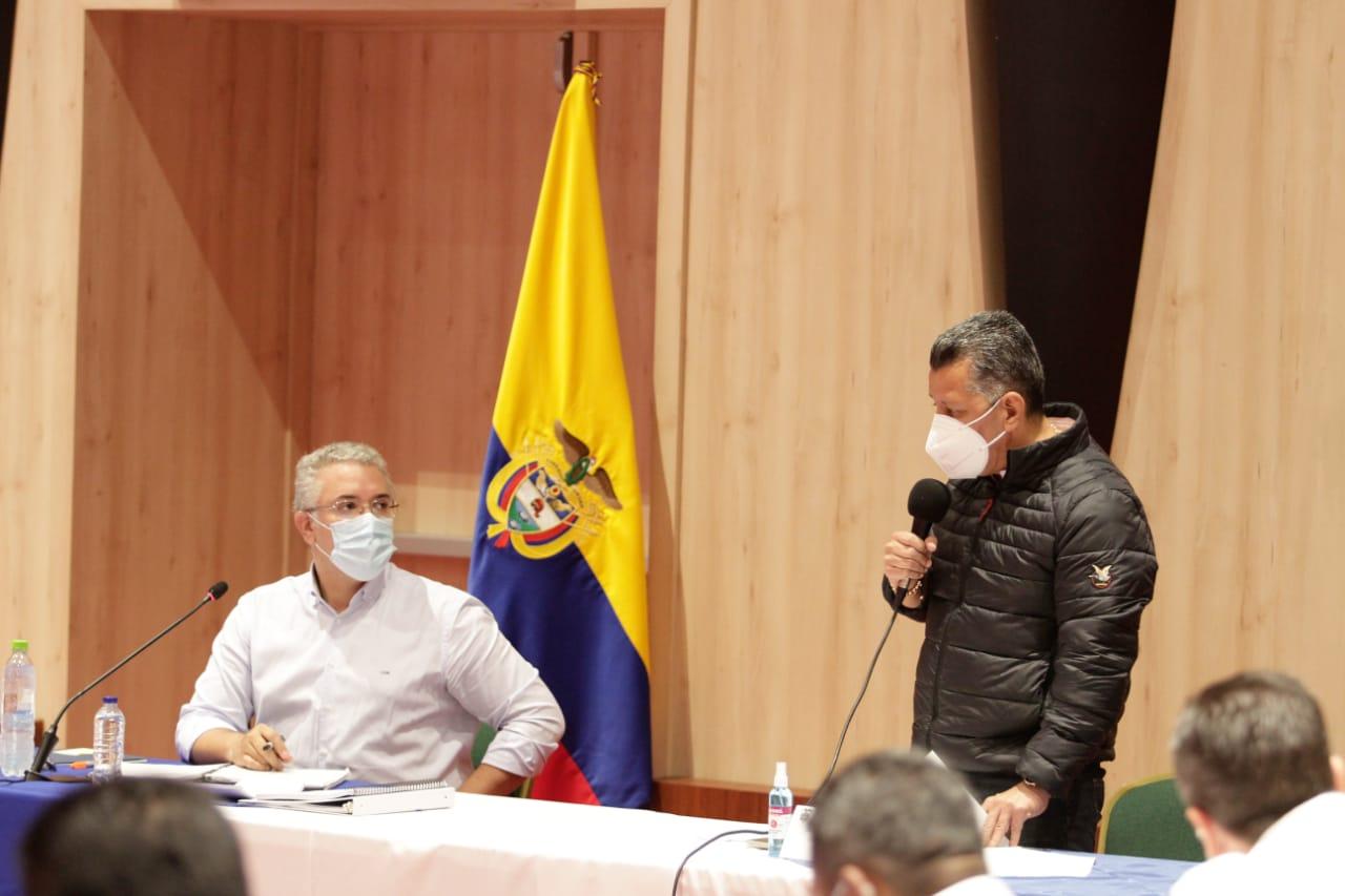 Gobernador Orozco propone al presidente Duque la formación de 300 nuevos patrulleros y patrulleras en el Tolima