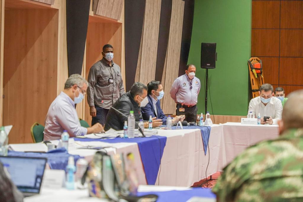 15 compromisos fueron pactados para Ibagué y el Tolima en Consejo de Seguridad con Gobierno Nacional