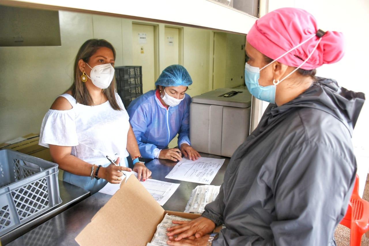 Vacunación contra Covid en el Tolima llega al 54%