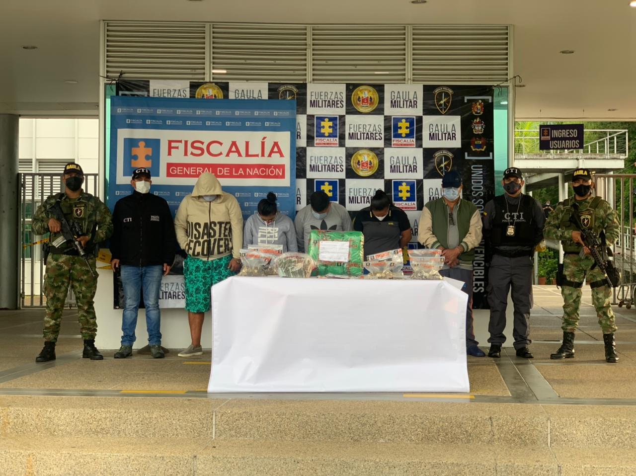 Cayeron 'Los Amézquita', dedicados a la distribución y venta de estupefacientes en Ibagué