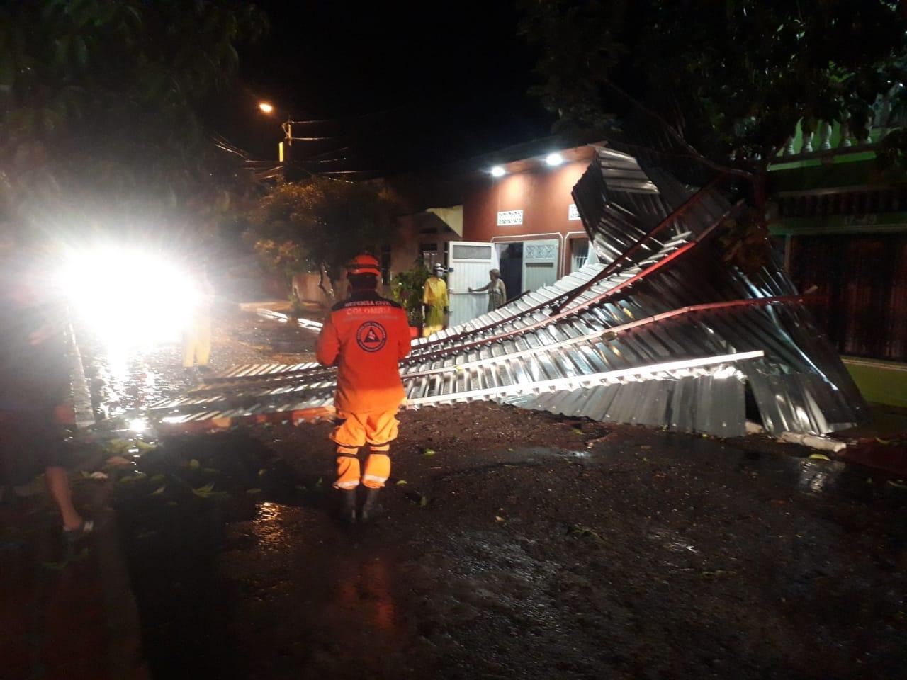 Fotos: Casas destechadas y caídas de árboles dejó fuerte tormenta en Honda y norte del Tolima