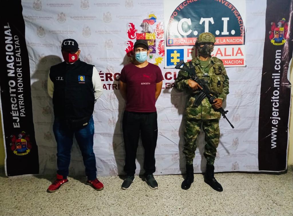 Capturado expendedor de estupefacientes de la banda delincuencial 'Los Tijeras' en el municipio de Mariquita