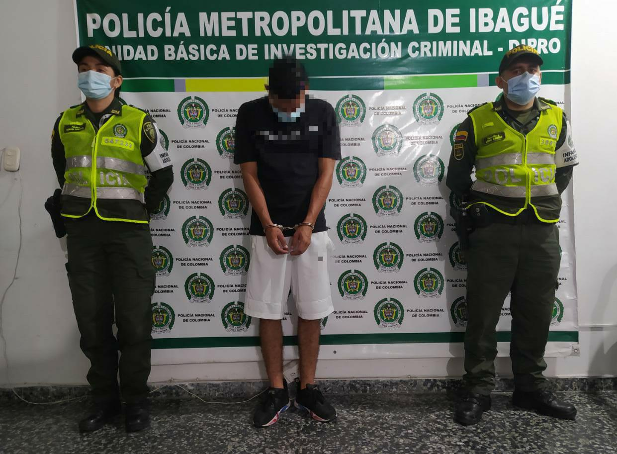 Capturado por herir con cuchillo a un hombre en una riña en el Centro de Ibagué