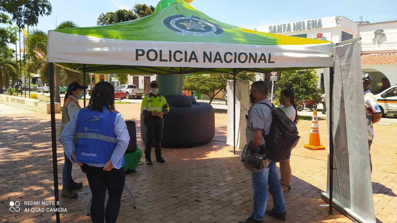 Se realizó jornada de sensibilización en accidentalidad vial en Mariquita